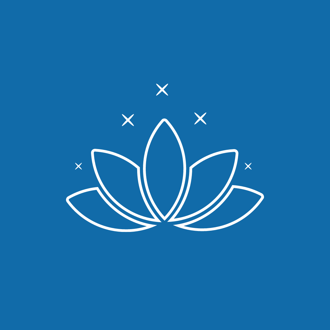 blue lotus icon image